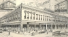 Etching of Missoula Mercantile. The Macy's Collection 2010.003