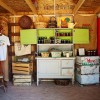 Open year round, Agua Linda's Farm Store carries fresh, seasonal vegetables from their gardens, raw, local honey, a variety of organic jams and local goods, handmade soaps and grass-fed, hormone and anti-biotic free beef. Courtesy of Amanda Rockafellow Photography