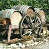 Wine barrel display at Estrella Del Norte Vineyard. Courtesy of the Donna Blake Birchell.