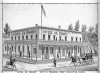 The Hotel De France. From Elliott's History of the Idaho Territory, 1884.879.