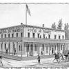 The Hotel De France. From Elliott's History of the Idaho Territory, 1884.879.