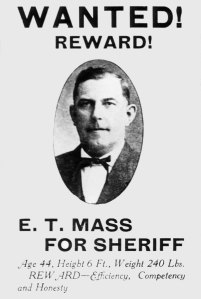 After Ernest T. Mass was elected sheriff of Clackamas County in 1911, he would face one of the most baffling crimes of his career: the Hill Case. Courtesy of Old Oregon Photos.com