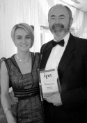 CEO Stuart Biles and Publishing & Digital Director Laura Perehinec