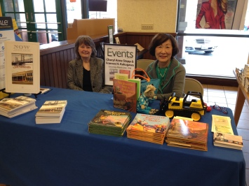 Cheryl Stapp at Barnes & Noble author event. Courtesy Cheryl Anne Stapp.