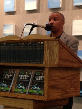 Geoffrey Arnold at Powell's Book 2013 event.